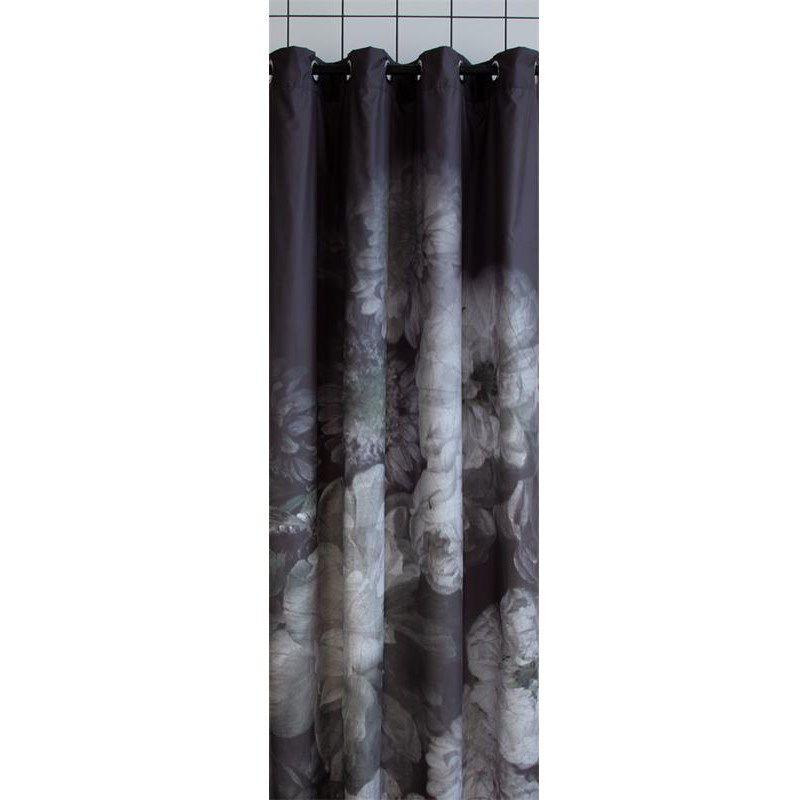 sort badeforhæng Fint badeforhæng i sort/grå print fra A.U Maison   Shop online her sort badeforhæng