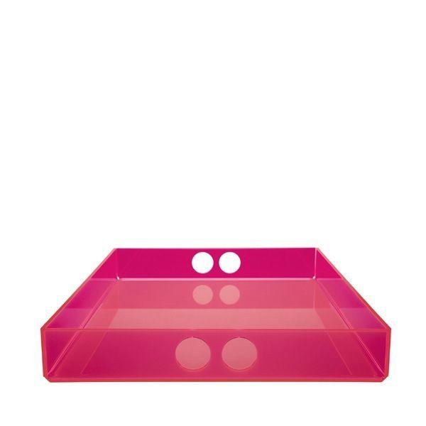 Tray bakke i pink fra neon living stor pink 29 x 41 cm