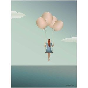 VISSEVASSE - Balloon dream - 50x70 cm