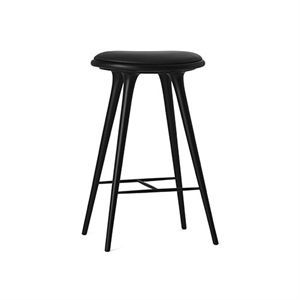 High Stool fra mater 74 cm (Black stained beech)