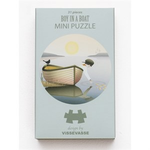 ViSSEVASSE - Boy in a boat - Mini Puzzle
