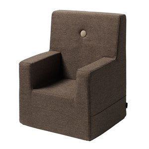 By KlipKlap børnestol - KK Kids chair XL - Brun m. sand knap