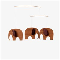 Flensted Mobiles -  Baby Elefant, 3 - Træ