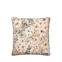 Cozy Living - Alberte Printed Cushion - SEAGRASS
