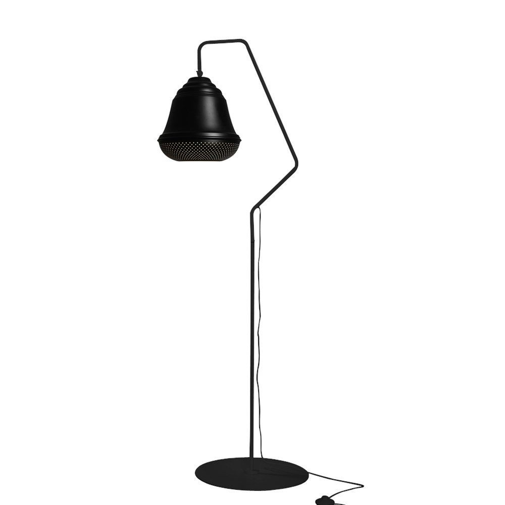 Bellis gulvlampe i sort fra Design By Us