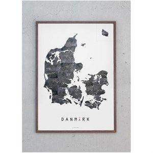 Martin Moore - plakat 50 x 70 cm - Danmark metal
