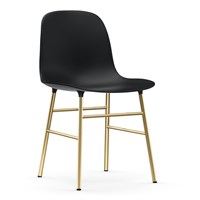 Normann Copenhagen - Form stol - Sort/messing