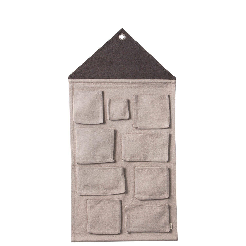 Ferm Living - Væg-opbevaring House Wall Storage - Grå