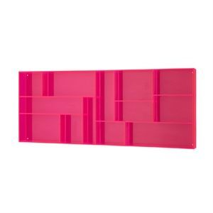 Neon Living Fox box pink (lille) - pink
