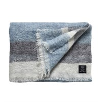 Skriver Collection - Mohair Plaid - Blue/grey - designet af Nanna Ditzel