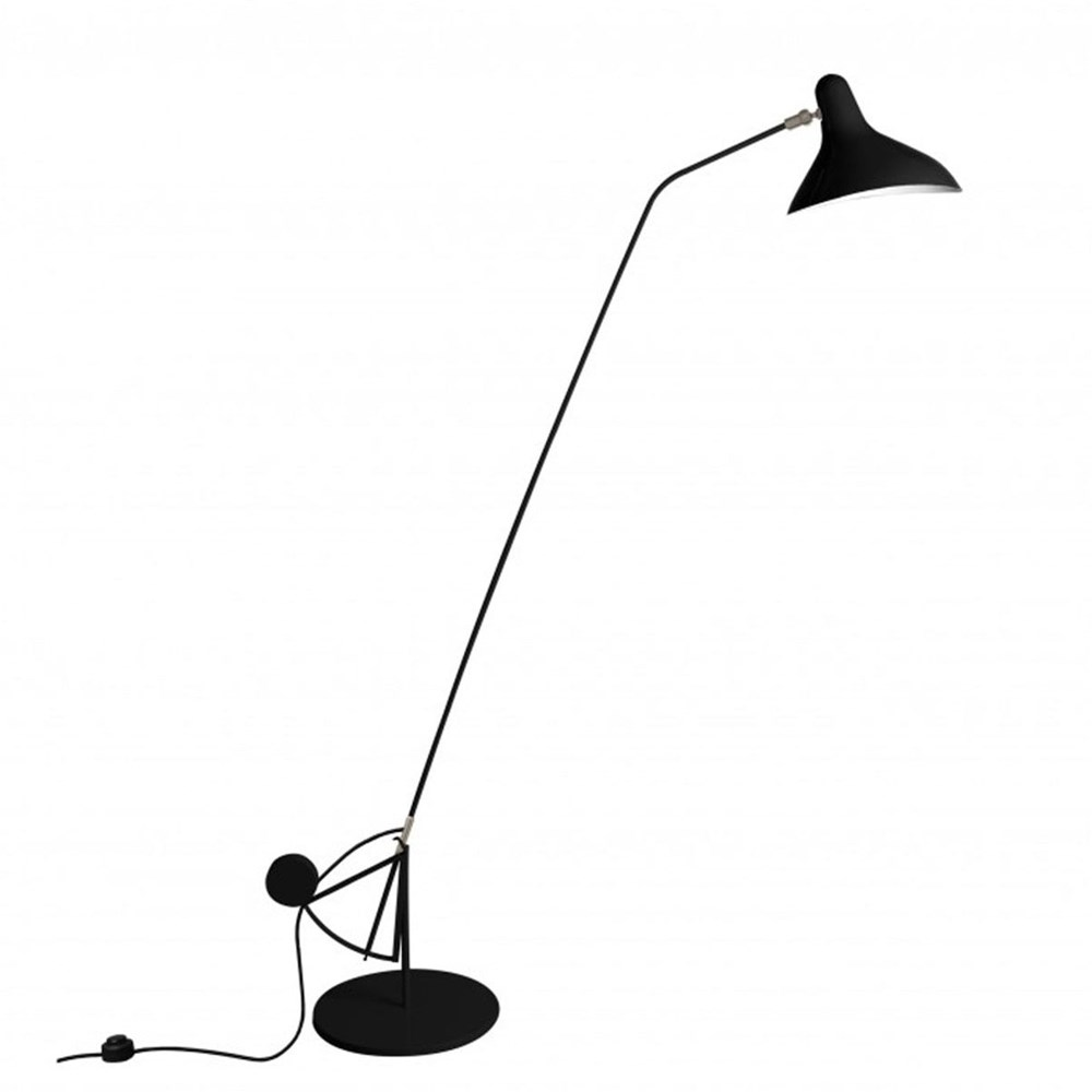 Mantis BS1 B - Gulvlampe - Sort