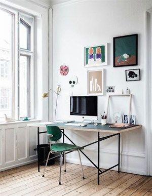 indretning af kontor Se inspiration til indretning af kontor i stuen her! indretning af kontor