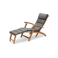 Skagerak - Hynde til Barriere Deck Chair - Charoal