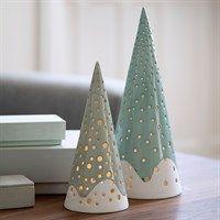 Kähler - Nobili juletræ H18 cm - stålgrå