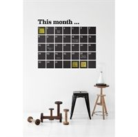 Fermliving - wallsticker kalender