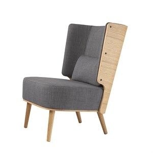 By KlipKlap - KK Lounge Chair - Eg/stone