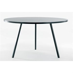 Hay bord - Loop stand round table sort Ø 120 cm