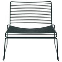 Hee Lounge chair i sort fra Hay