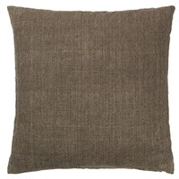 Cozy Living - Luxury Light Linen Cushion - CHESTNUT