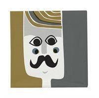 "Ferm Living - servietter ""Mr. Napkin"""