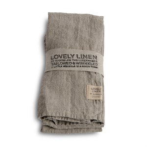 Lovely Linen - Stofserviet, Natural Beige