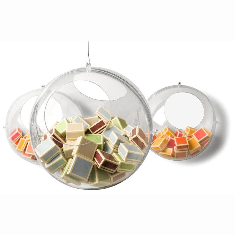 Koziol - Koziol hanging display Orion transparent kugle