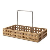 Trip Trap - Pantry Caddy, Teak/Rustfrit