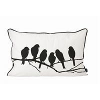 Ferm Living - pude - love birds