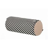 Ferm Living pude - black stripe