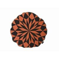 Ferm Living pude - star round - rusty