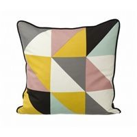 Ferm Living - Pude - remix yellow