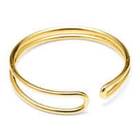 Louise Kragh - Fingerring - Enamel 0407 - guld