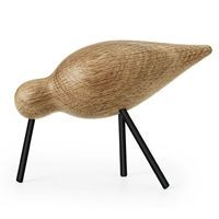 Normann Copenhagen - Shorebird medium - eg/sort