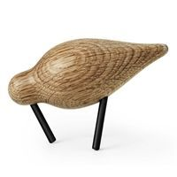 Normann Copenhagen - Shorebird small - eg/sort
