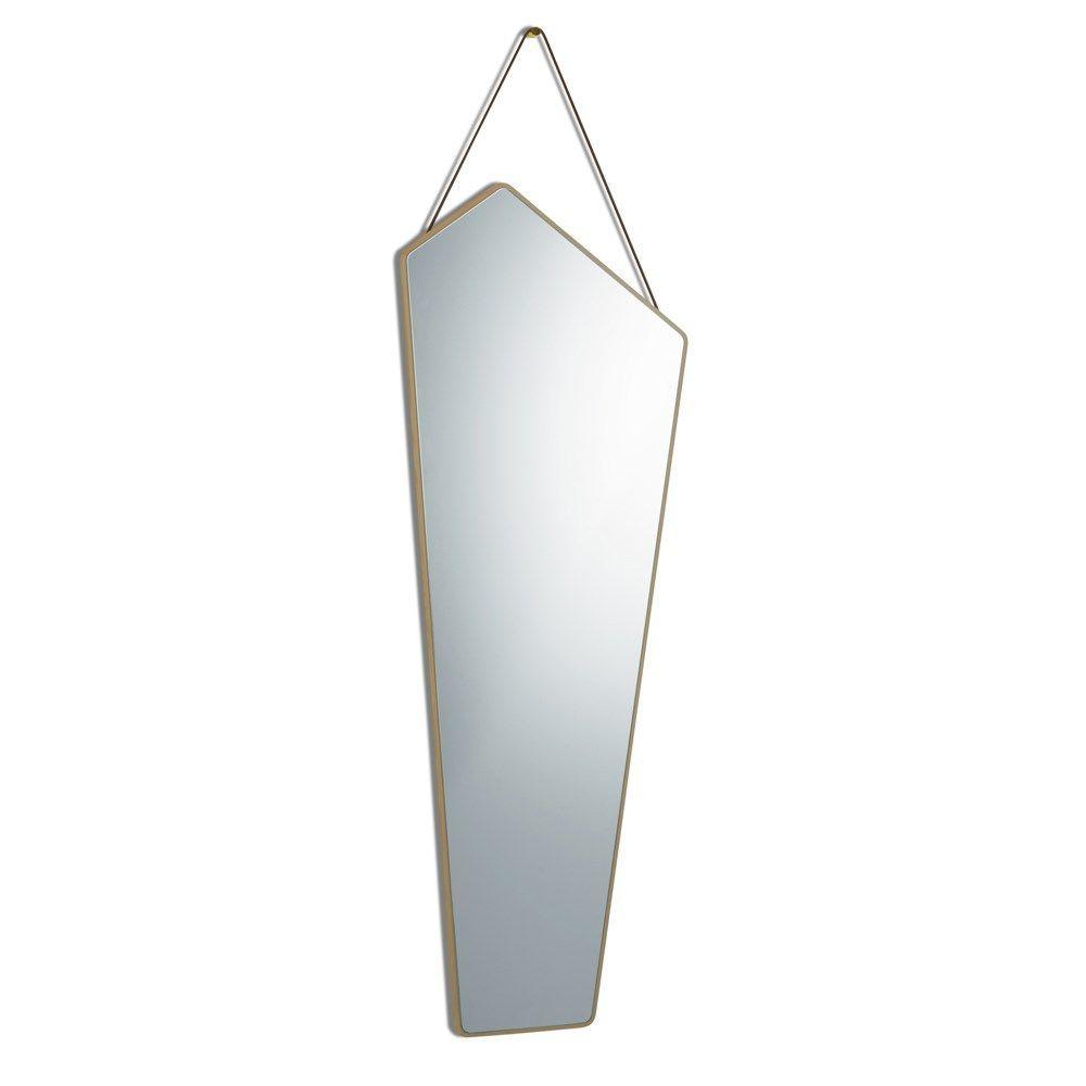 spejl uden ramme Design By Us   Ego spejl med egetræs ramme   stor spejl uden ramme