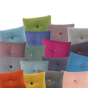Hay - Dot Cushion Steelcut Trio - mange flotte farver