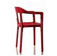 Magis - Steelwood chair i r�d