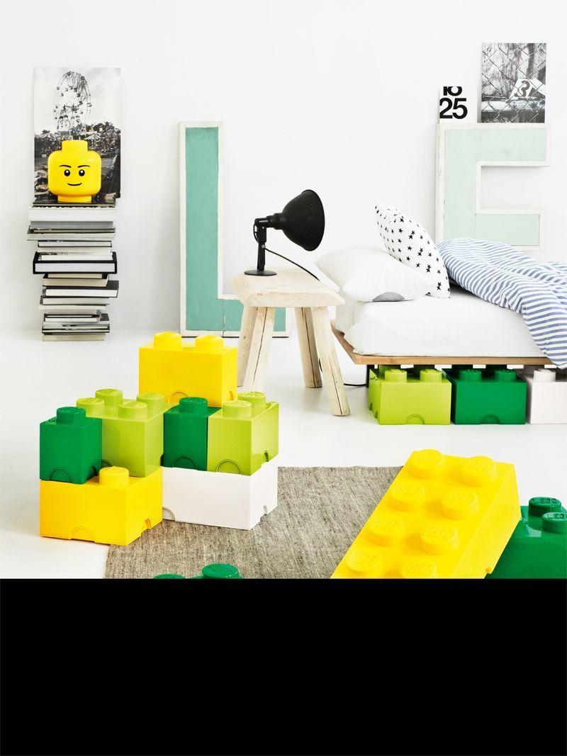 Lego - brick 4 - opbevaringskasse fra Lego - gratis fragt