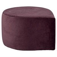 AYTM - Stilla velour puff - Bordeaux