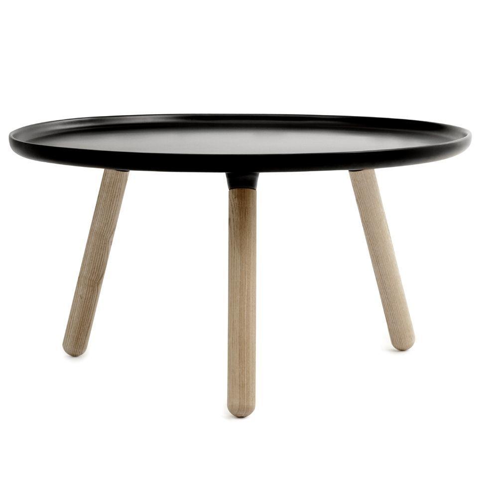 normann copenhagen tablo bord i sort 78 cm. Black Bedroom Furniture Sets. Home Design Ideas
