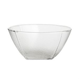 Wrong For Hay - Tela Bowl - clear (Ø 13,5 x H 7 cm)