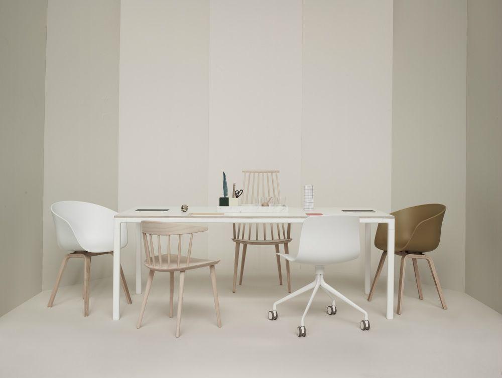 Hay fdb stol i hvid   gratis fragt