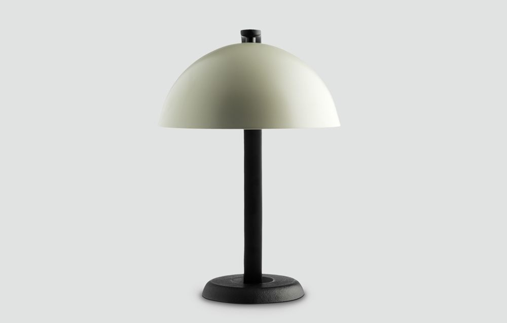 Wrong for Hay - Cloche table light - hvid