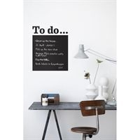 Fermliving - To Do - black Wallsticker