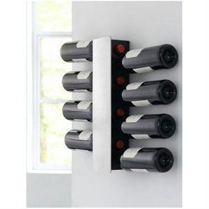 Vinreol til din væg fra Steel Function. Plads til 8 flasker